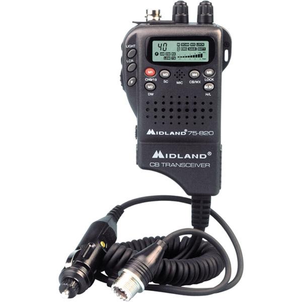 Midland CB-75822 Compact Handheld CB Radio
