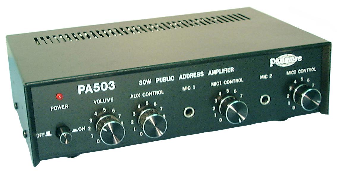 PHILMORE PA503 P.A. AMPLIFIER