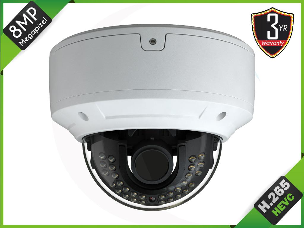 TEKIP-5VP8032MZ-3610 8MP Ultra HD IP Vandal Motorized Camera