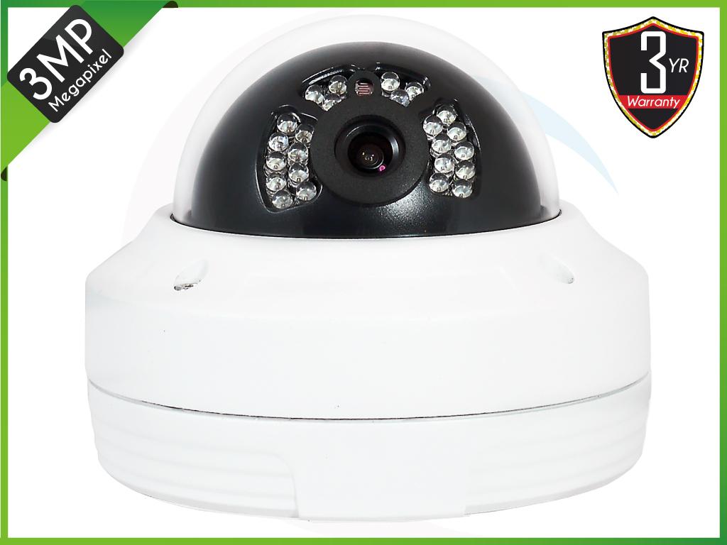 TEKIP-VPD3036 3MP IP Vandal IR Dome Camera