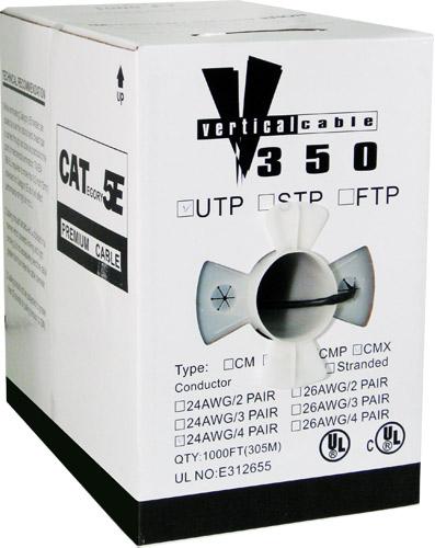 Bulk Outdoor (UV) Category 5e Cable