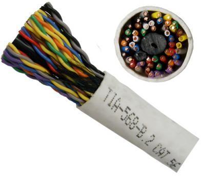Cat 5e 25-Pair Power Sum Cable