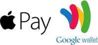 Pay with ApplePay or Google Wallet