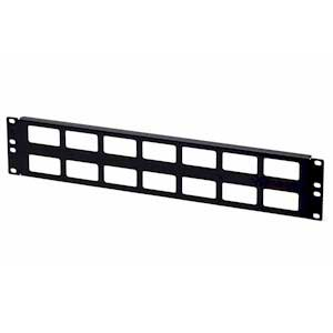 Kendall Howard 1902-1-002-02 2U CABLE ROUTING BLANK