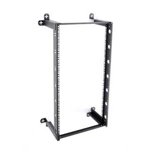 Kendall Howard 1915-3-300-21 21U  V-LINE FIXED WALL RACK