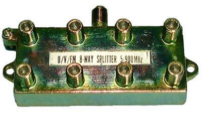 PHILMORE 42-138 MATV SPLITTER-8 WAY