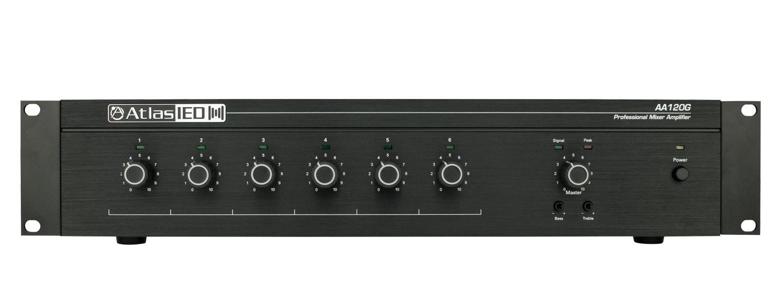 Atlas Sound AA120 6-input 120W Mixer Amp