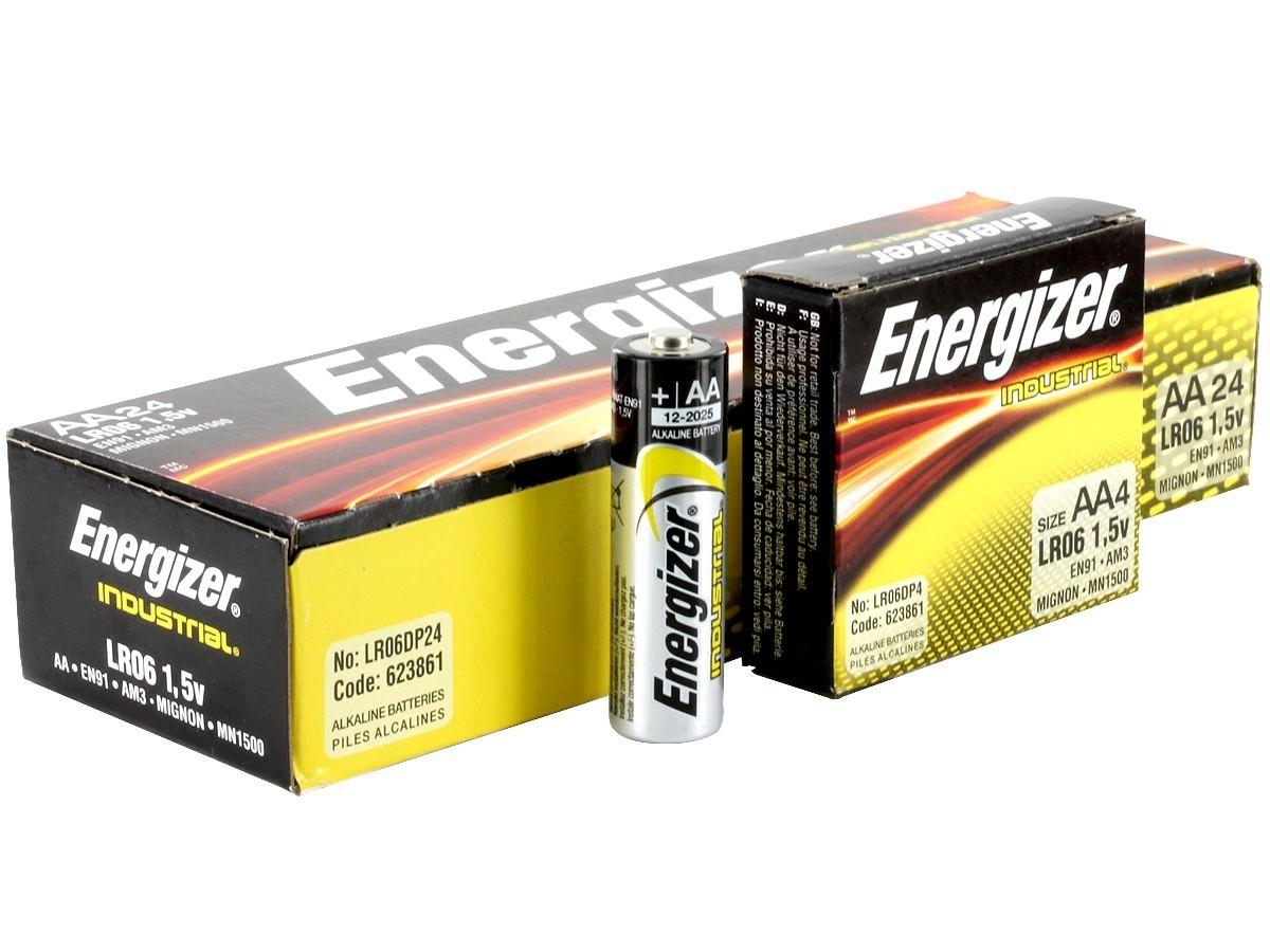 Energizer EN92 Industrial AAA Batteries
