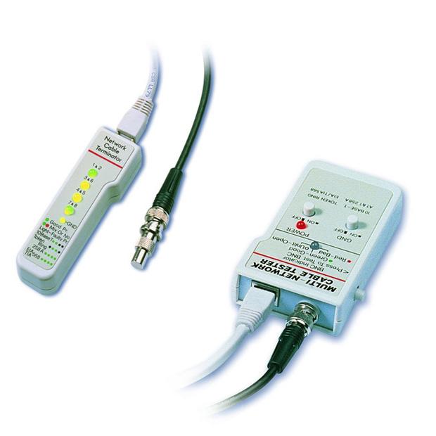Multi-Network Cable Tester w/Remote
