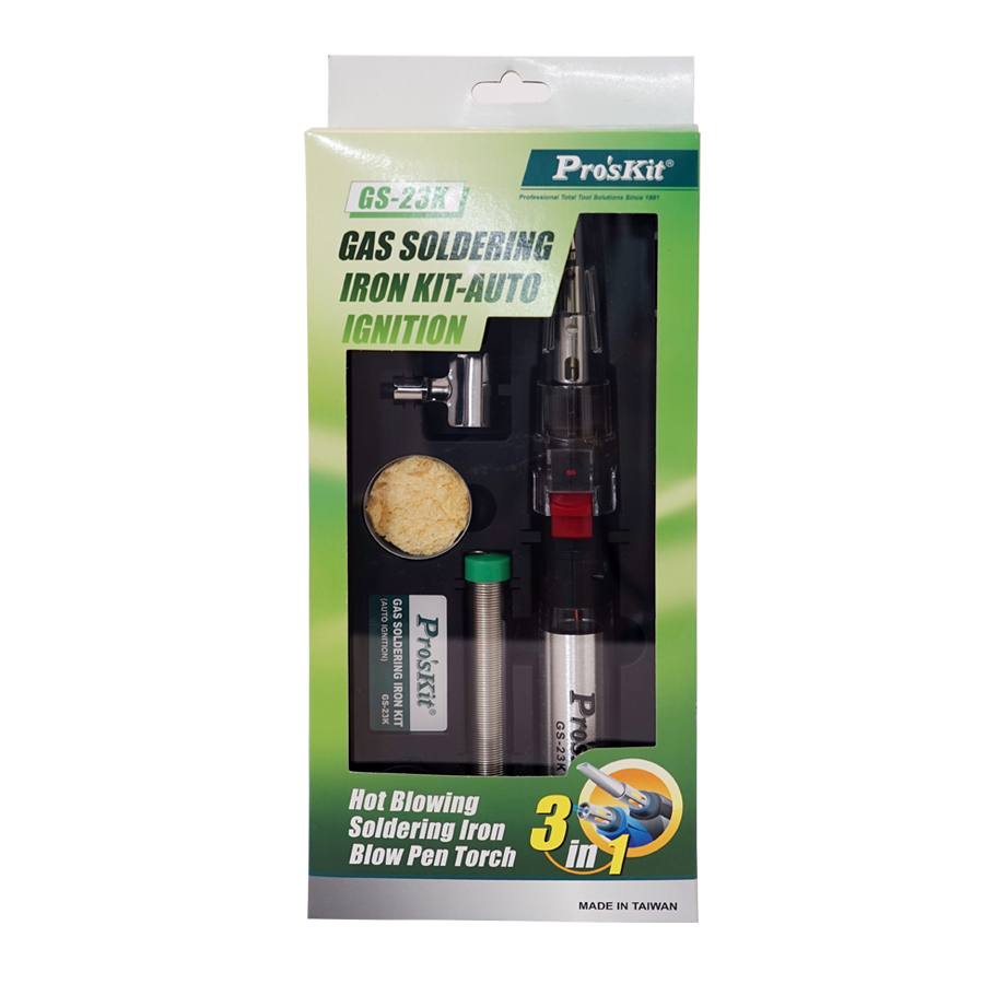 Gas Soldering Iron Kit-Auto Ignition
