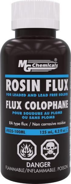 MG Chemicals 835-100ML Liquid Rosin Flux