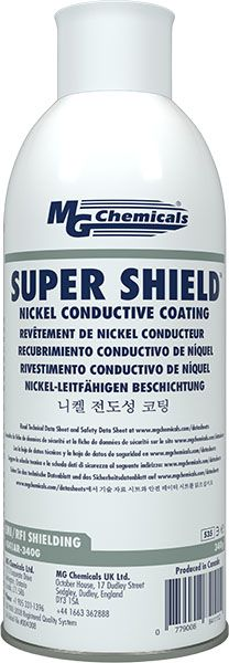 MG Chemicals 841AR-340G Super Shield Nickel Conductive Coating
