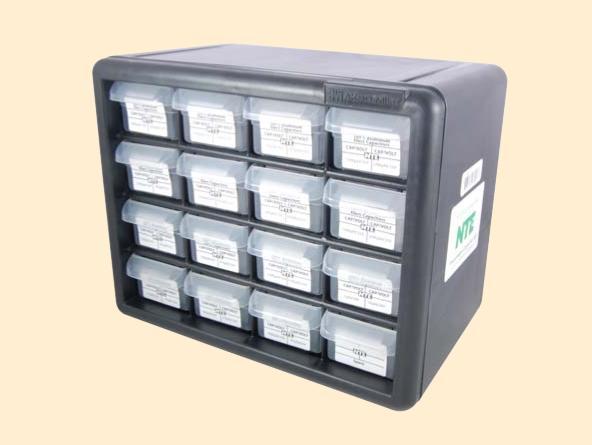 NTE Electronics CK-05 50V Ceramic Disc Capacitor Kit