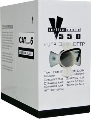 Black Cat 6 Bulk UTP Cable