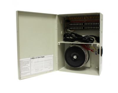 DB-24VAC-18 18-Camera 24 VAC 10A CCTV Power Supply