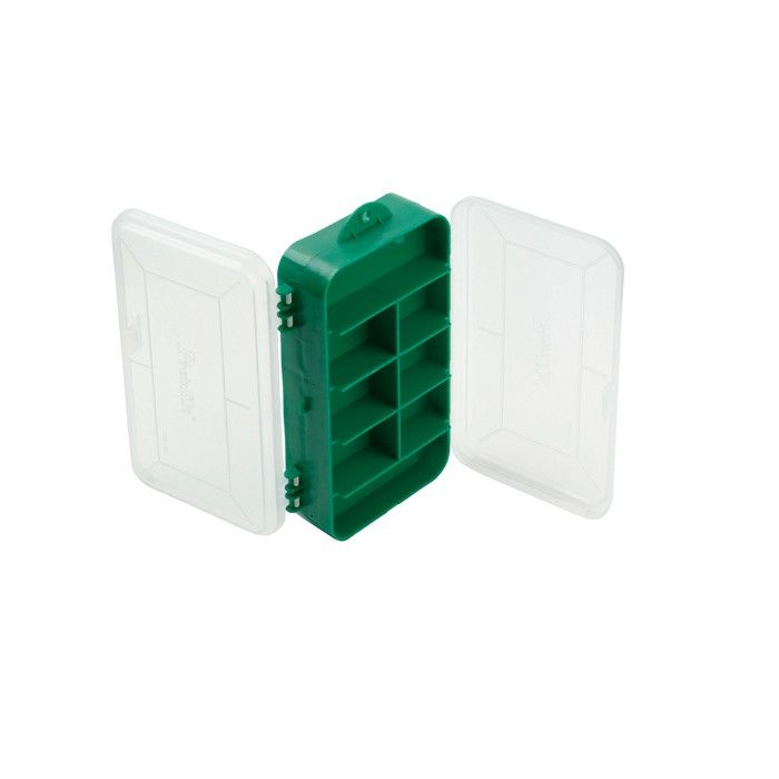 Plastic Box - two sided lids 6.5 X 3.75 X 1.75
