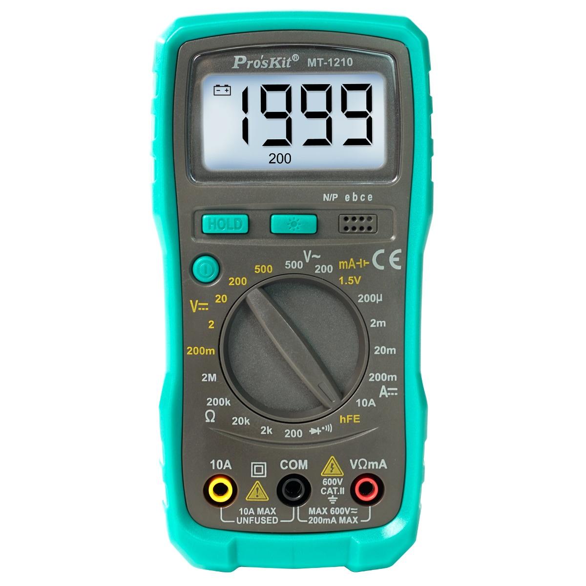 3 1/2 Compact Digital Multimeter