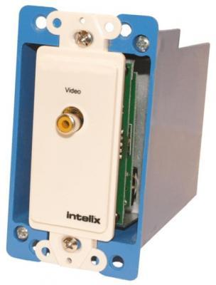 Intelix AVO-V1-WP Composite Video Wallplate