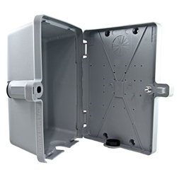 TELP2GY Weather-Resistant Residential Enclosure